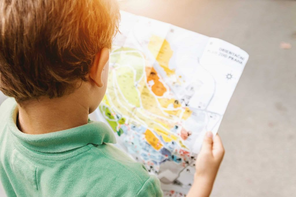 Le plan du zoo est accessible en ligne